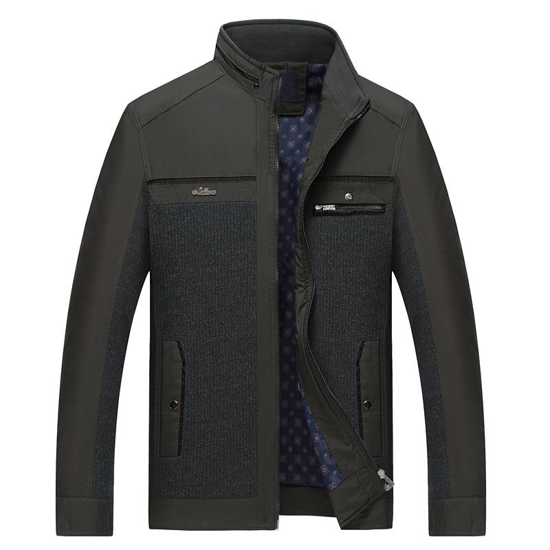 Áo Jacket nam Sunsus khóa kéo phối màu