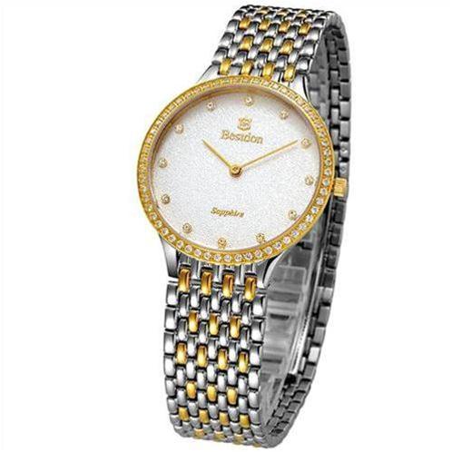 Đồng hồ nam siêu mỏng Bestdon (Trắng vàng (N2))-BD0008-2