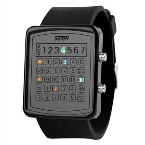 Đồng hồ Skmei 0987 đèn Led