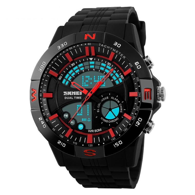 Đồng hồ điện tử thể thao nam màu sắc Skmei 1110