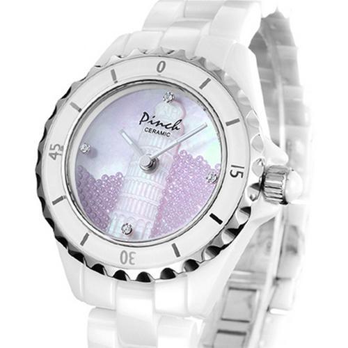 Đồng hồ nữ Pinch 8005G-P09L tháp nghiêng Pisa