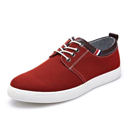 Giày vải nam viền da CDD 1306