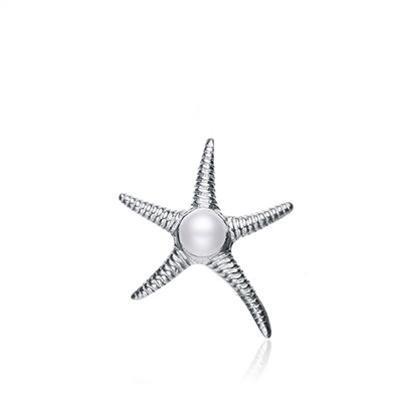 baza.vn: dây chuyền sao biển bạc