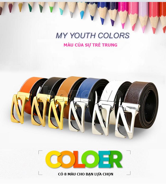 Dây lưng nam Feayoo FY-D060 có 8 màu sắc thể hiện sự trẻ trung