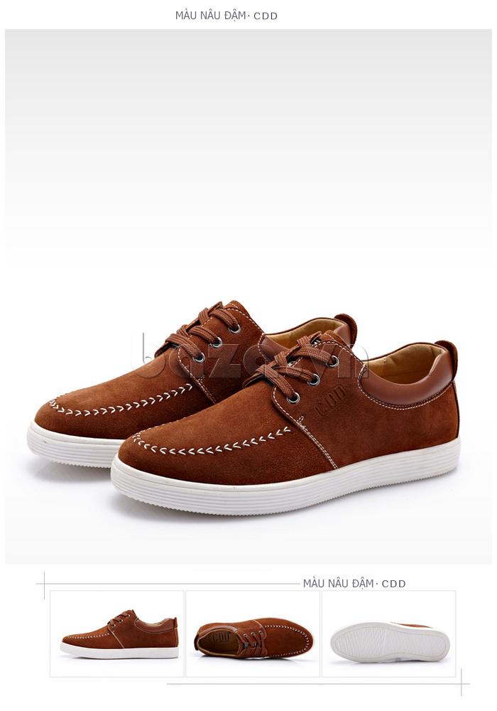 Giày nam da lộn CDD 1308 phong cách năng động