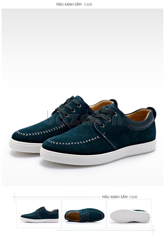 Giày nam da lộn CDD 1308 có nhiều màu sắc ấn tượng