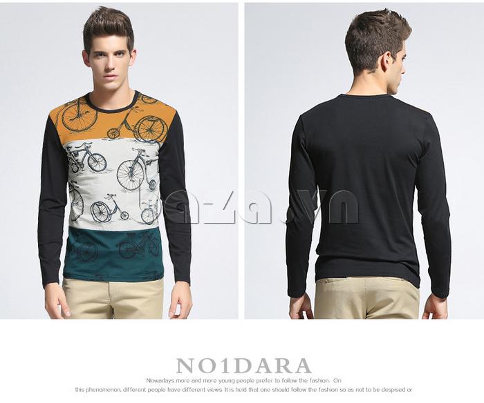 Áo len nam No1Dara TXN43511 dáng ôm tôn lên vẻ đẹp hình thể của nam giới