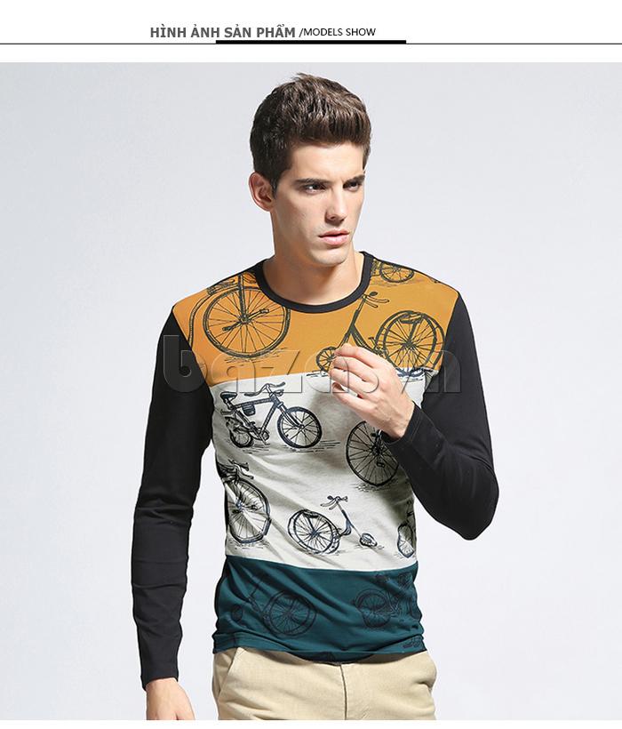 Áo len nam No1Dara TXN43511 thiết kế trẻ trung, cá tính