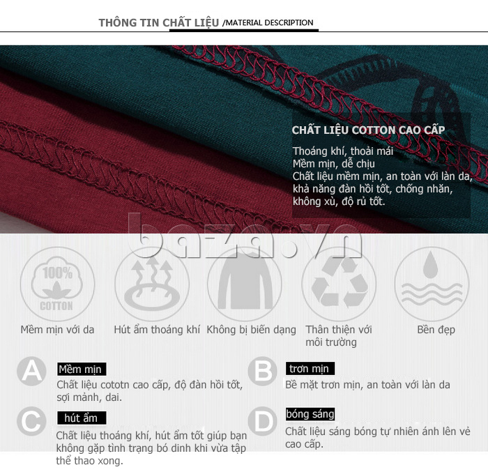 Áo len nam No1Dara TXN43511 chất liệu cotton cao cấp