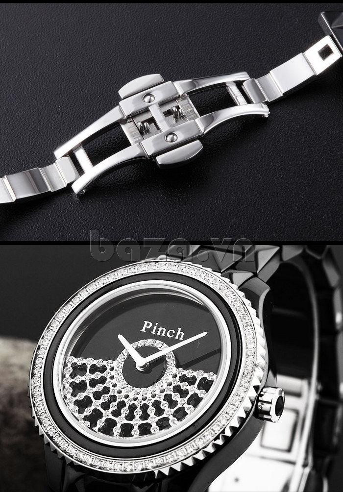 """Đồng hồ nữ """" Đồng hồ thời trang Pinch 1882H """" khóa cài chắc chắn"""