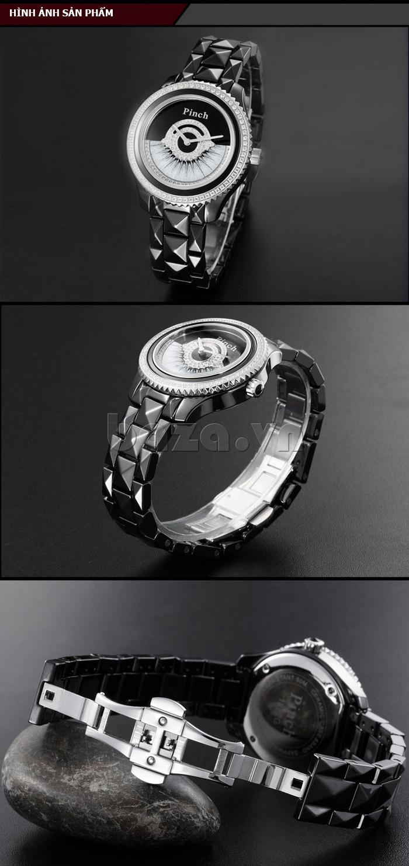"""Đồng hồ nữ """" Đồng hồ thời trang Pinch 1882H """" nhẹ nhành sang trọng lôi cuốn"""