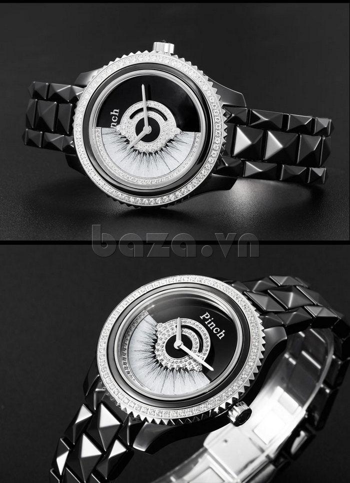 """Đồng hồ nữ """" Đồng hồ thời trang Pinch 1882H """" thiết kế tỉ mỉ đầy thu hút"""