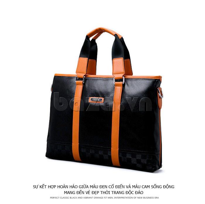 Túi da nam Feger 634-3 hiện đại