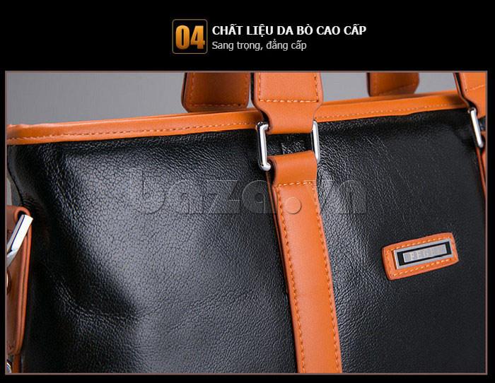 Túi da nam Feger 634-3 được yêu thích