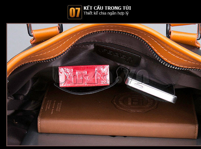 Túi da nam Feger 634-3 da chất lượng