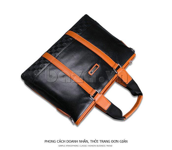 Túi da nam Feger 634-3 hoàn hảo