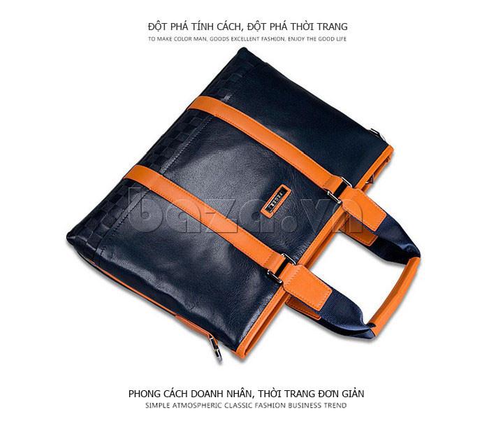 Túi da nam Feger 634-3 chất lượng