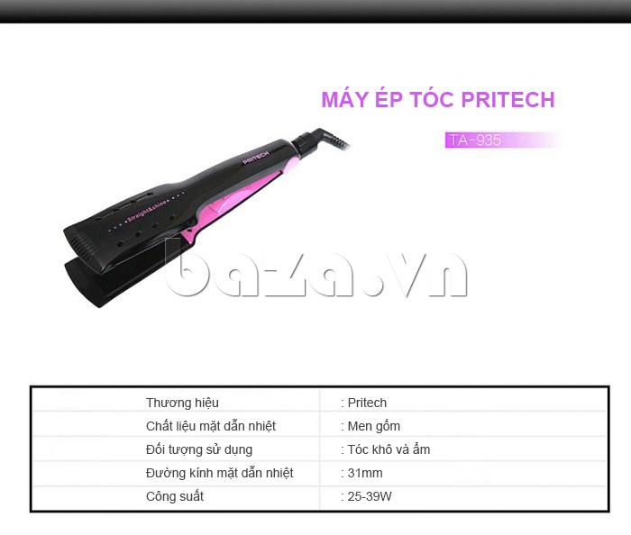 Máy ép tóc Pritech TA-935 được bán tại Baza