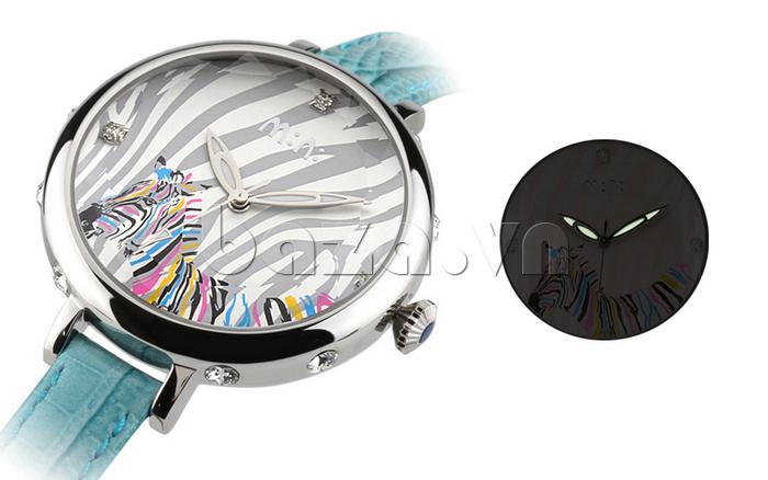 Đồng hồ nữ Mini MN991 tháp Eiffel màu đẹp và cuốn hút
