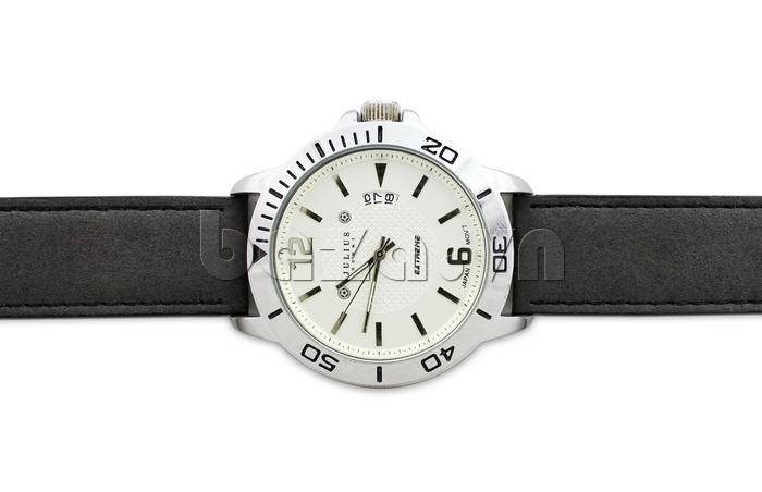 Đồng hồ nam mặt tròn Julius Home JAH-009 cá tính