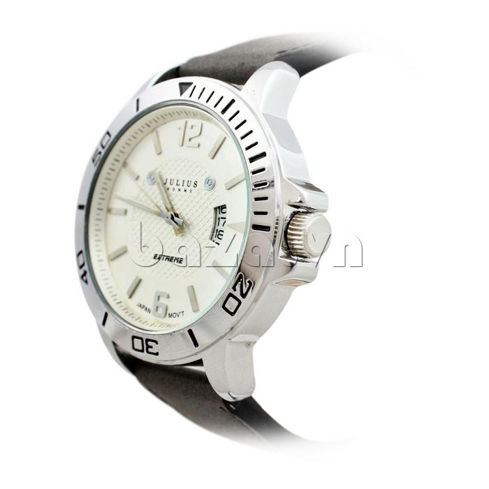 Đồng hồ nam mặt tròn Julius Home JAH-009 tinh tế