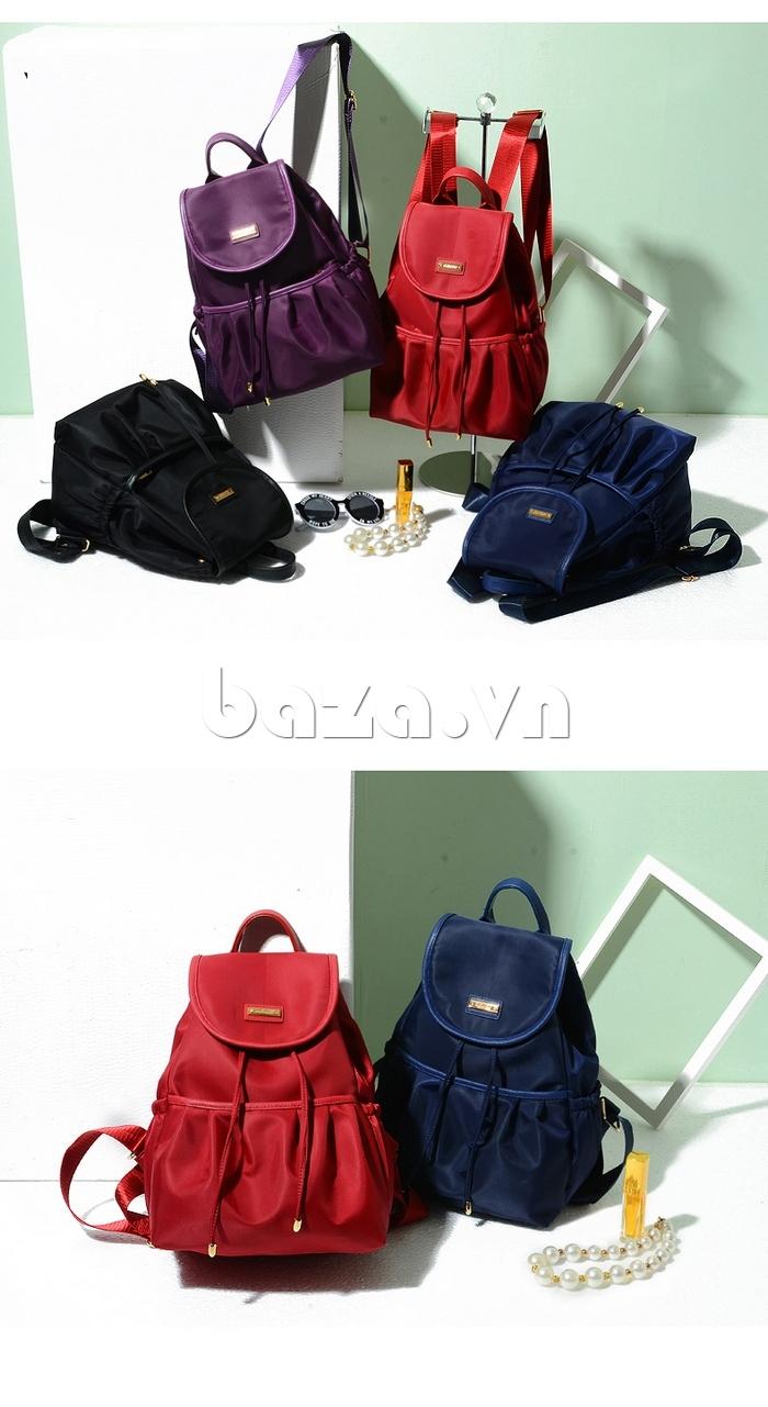 Balo nữ thời trang Hàn Quốc Binnitu WG7728