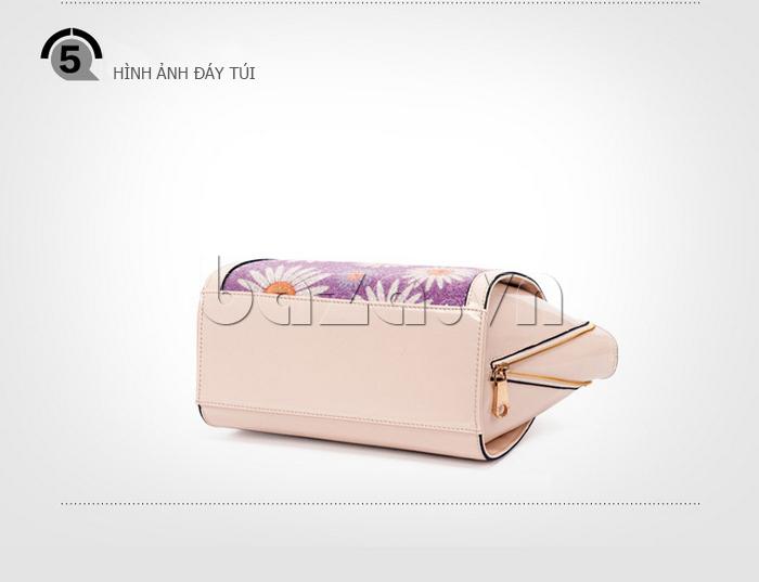 Túi xách nữ hoa hướng dương Binnitu 12253 thiết kế nổi tiếng