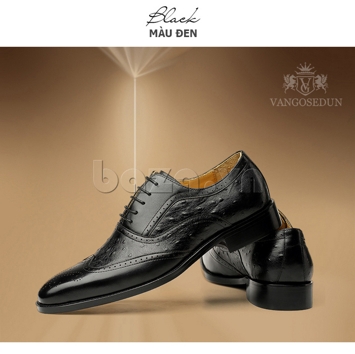 Giày da nam VANGOSEDUN VG78801 trẻ trung cho doanh nhân