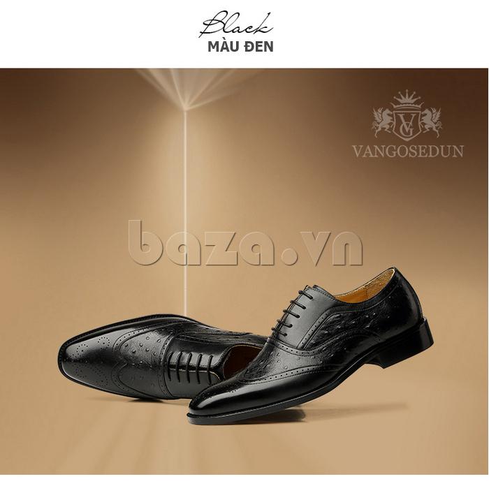 Giày da nam VANGOSEDUN VG78801 ấn tượng bởi vẻ ngoài cá tính