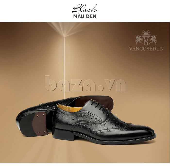 Giày da nam VANGOSEDUN VG78801 độc đáo