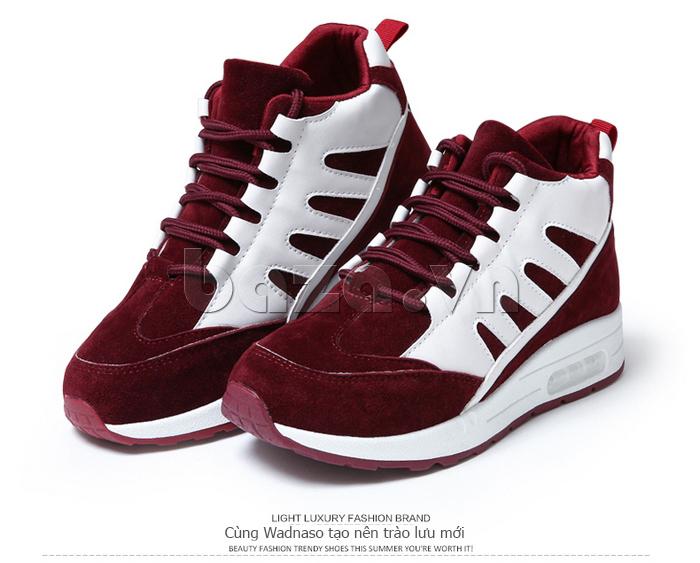 Giày thể thao nữ Wadnaso màu đỏ