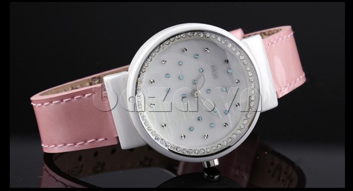 Đồng hồ nữ Mini Kinh đô ánh sáng tinh tế, là món quà tặng ý nghĩa