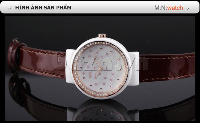 Hình ảnh của sản phẩm Đồng hồ nữ Mini Kinh đô ánh sáng