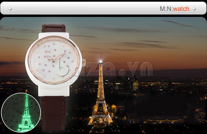 Đồng hồ nữ Mini Kinh đô ánh sáng nguồn cảm hứng từ đất nước Pháp xinh đẹp