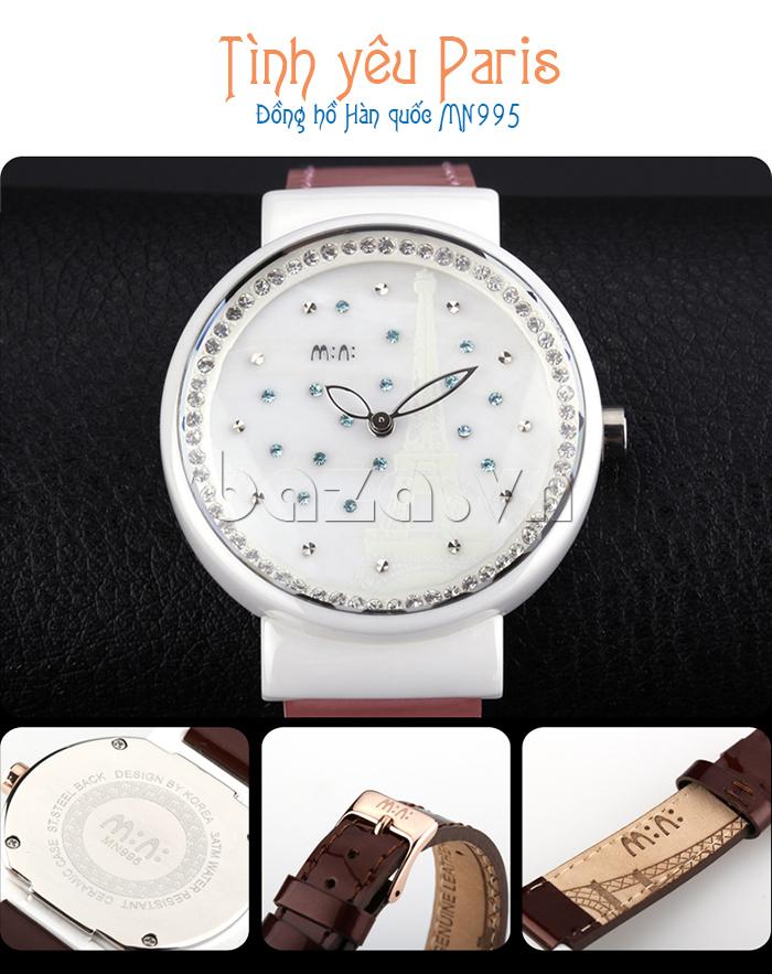 Đồng hồ nữ Mini Kinh đô ánh sáng đồng hồ Hàn Quốc