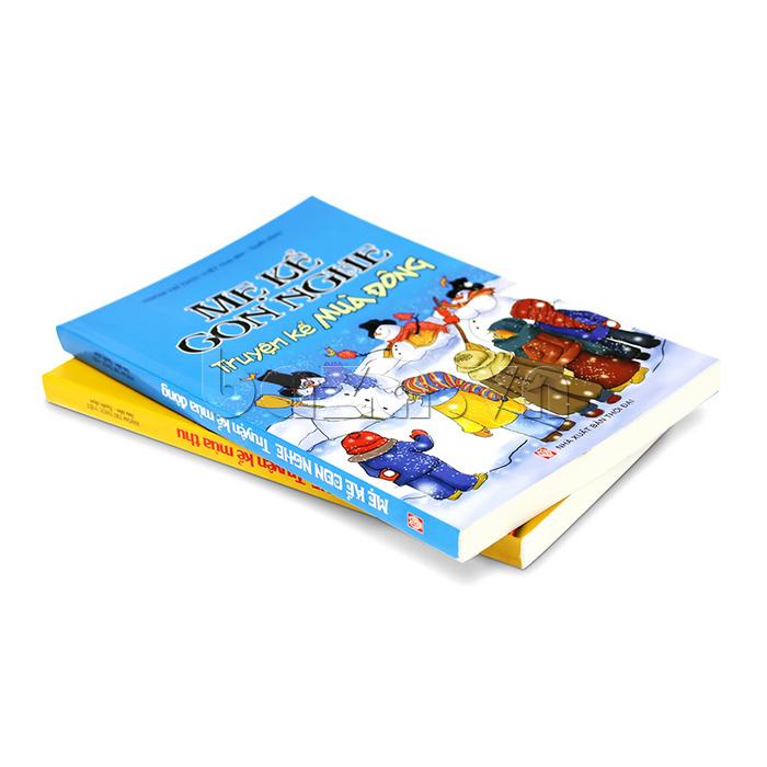 Sách thiếu nhi Mẹ kể con nghe - Truyện kể mùa đông