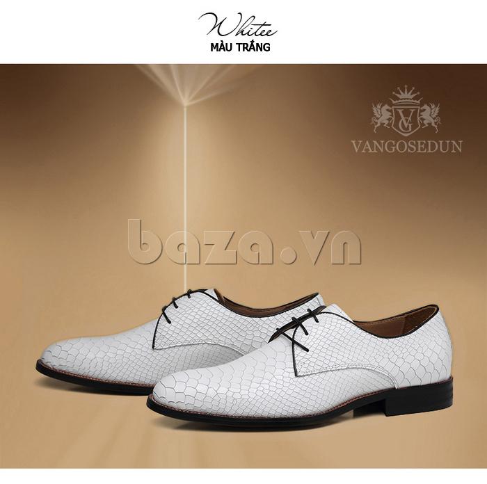 Giày da nam VANGOSEDUN Y1012 vẻ đẹp sang trọng
