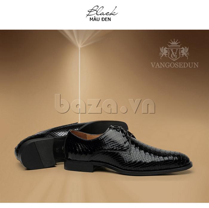 Giày da nam VANGOSEDUN Y1012 dễ bảo quản, lau chùi