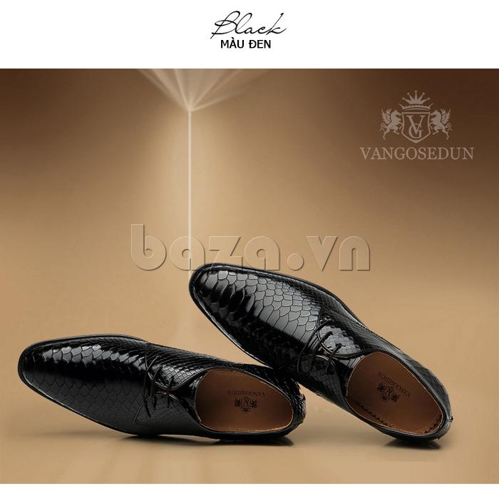 Giày da nam VANGOSEDUN Y1012 tinh tế đến từng chi tiết