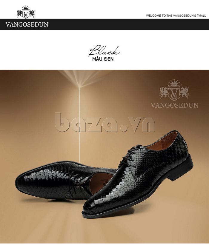 Giày da nam VANGOSEDUN Y1012 sang trọng và lịch lãm