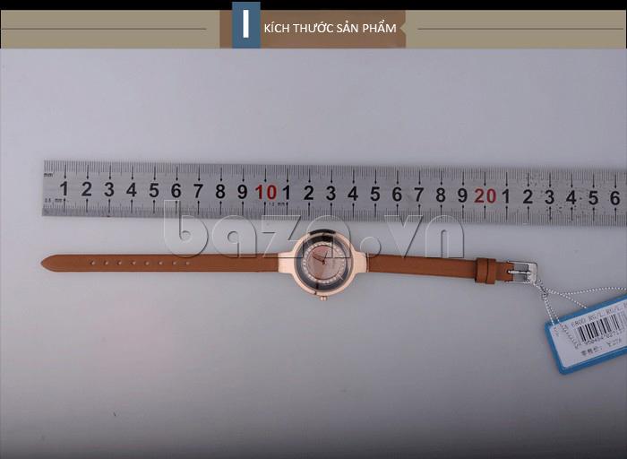 Kích thước của sản phẩm: Đồng hồ nữ Julius JA-680