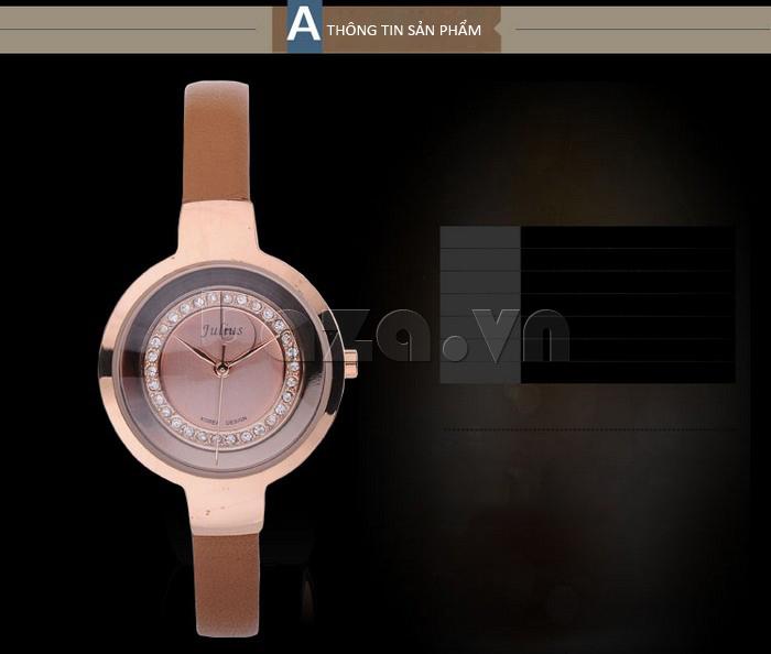Thông tin sản phẩm của Đồng hồ nữ Julius JA-680