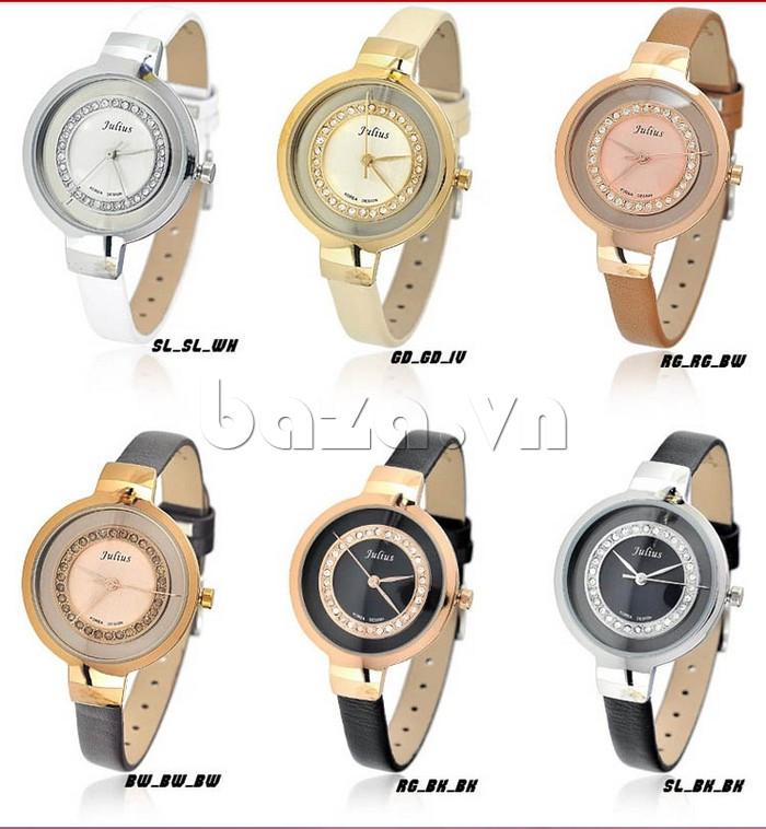 Đồng hồ nữ Julius JA-680 vẻ đẹp không thể lãng quên