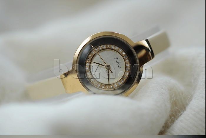 Đồng hồ nữ Julius JA-680 kim chỉ giờ trau chuốt