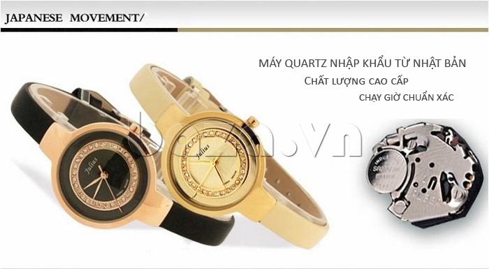 Đồng hồ nữ Julius JA-680 máy quartz nhập khẩu