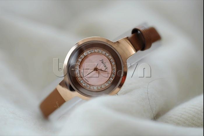 Đồng hồ nữ Julius JA-680 vẻ đẹp thời trang hoàn mỹ