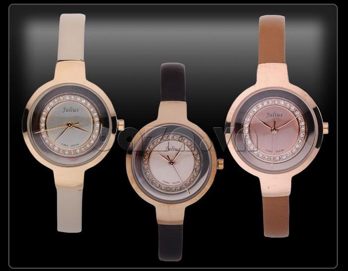 Đồng hồ nữ Julius JA-680 khẳng định đẳng cấp cho các quý cô