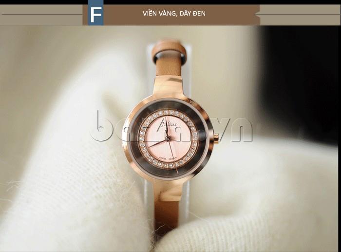 Đồng hồ nữ Julius JA-680 mẫu thiết kế mới ấn tượng