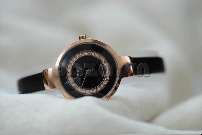 Đồng hồ nữ Julius JA-680 núm điều chỉnh thời trang