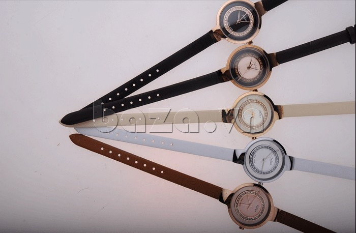 Đồng hồ nữ Julius JA-680 những màu sắc cá tính